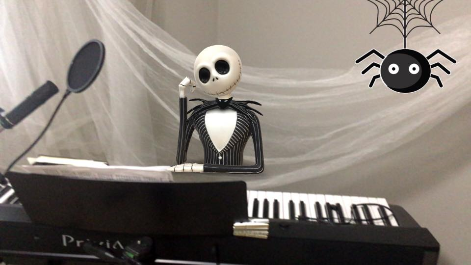 spooky augmented reality