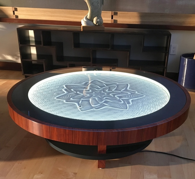 kinetic art table