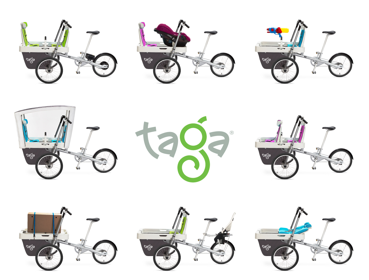 Taga 2 0 The Coolest Most Versatile Family Bike Apollo