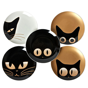 Cat Eyes Mini Plates