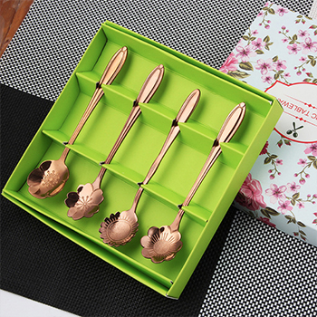 Flower Spoons (Set of 4)