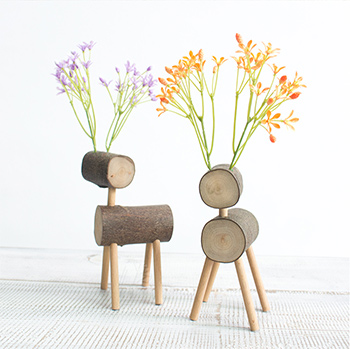 Elk Design Wood Art