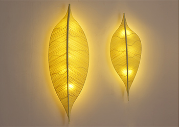 Leaf Shape Wall Lamp
