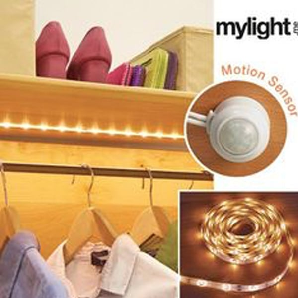 motion closet led within prepare fixture light sensor wall