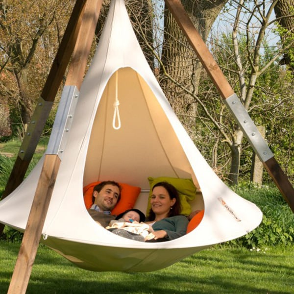 double cacoon hanging chair - apollobox
