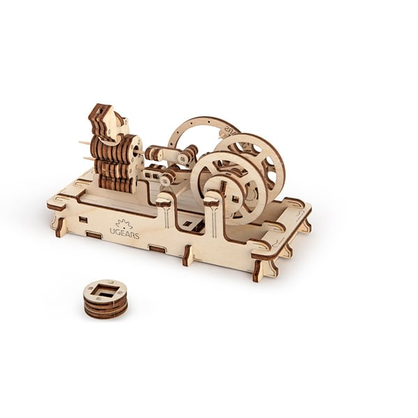 Ugears 3D Self Propelled Model Engine