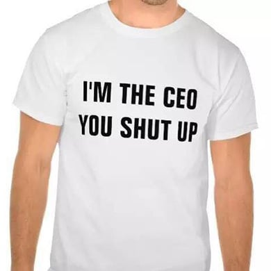 I am the CEO T-shirt