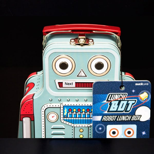 product thumbnail image for Robot Lunch Box