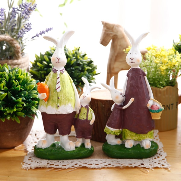 Cute Rabbit Family Set