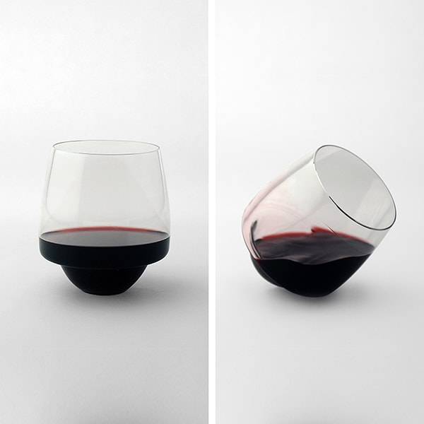 Saturn Wine Glass