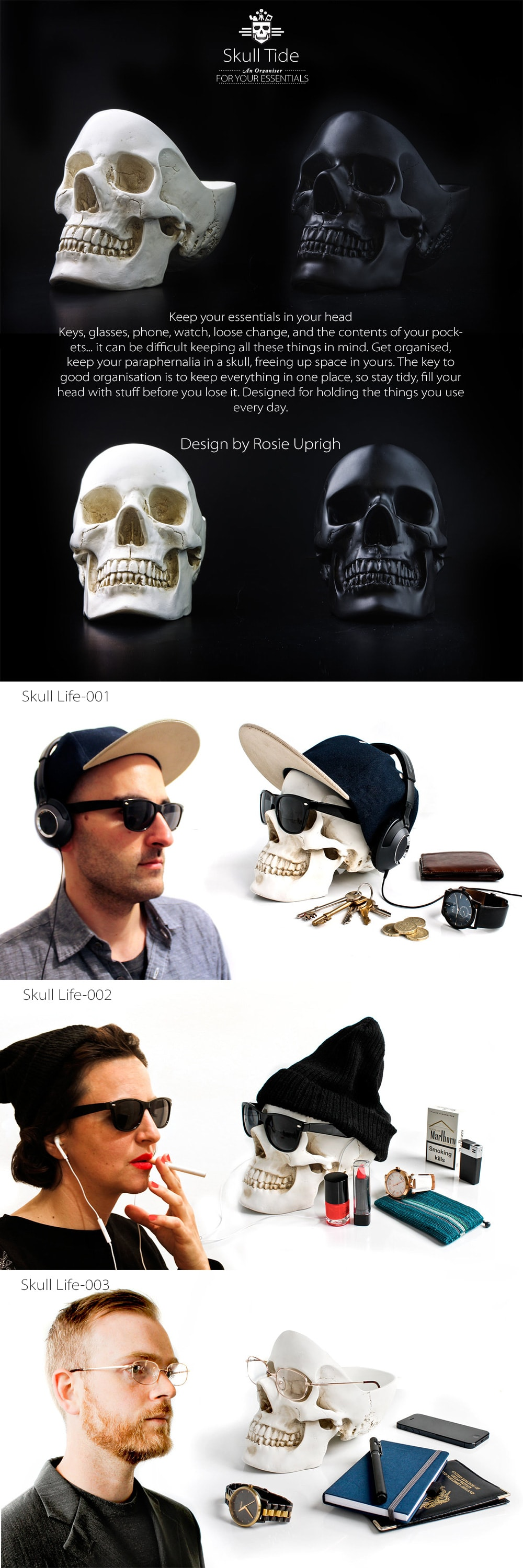 Skull Tidy Keep Your Essentials In Your Head