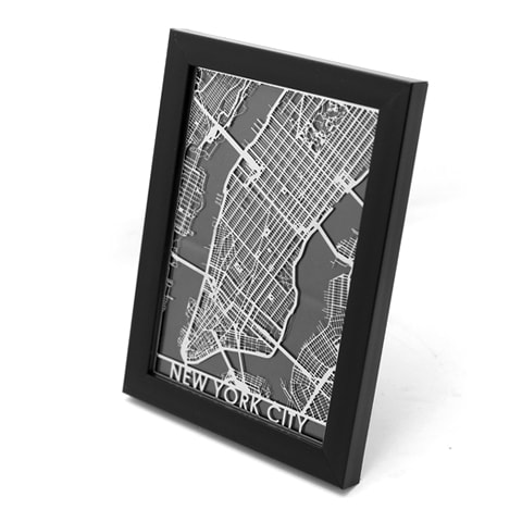 Steel Maps For US Cities