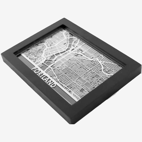 product image for Steel Maps For US Cities