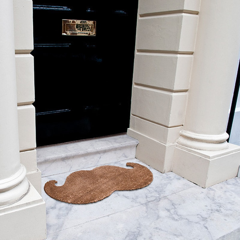 product image for Moustache Door Mat