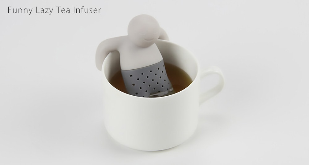 Funny Lazy Tea Infuser It will infuse your tea with its pants