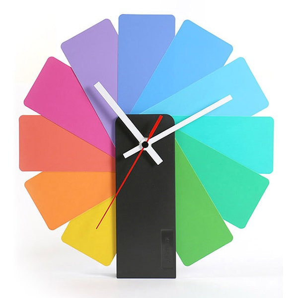 Transformer Analog Clock Multicolor