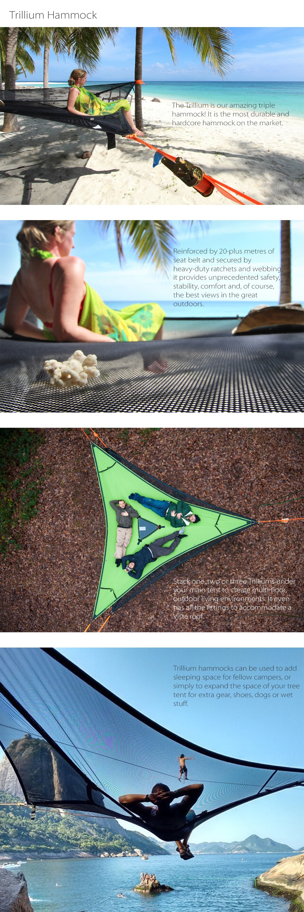 Trillium Hammock Tent The Most Durable And Hardcore Hammock