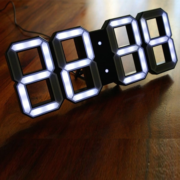 LED Clock Black Edition
