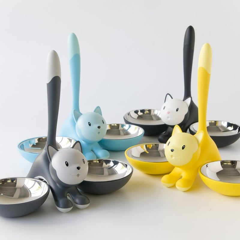 product image for Alessi Tigrito Cat Bowl