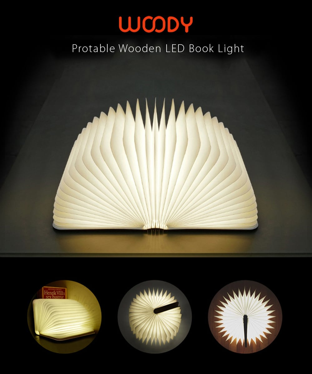 Woody Book Lamp A Modern Lamp With Infinite Possibilities