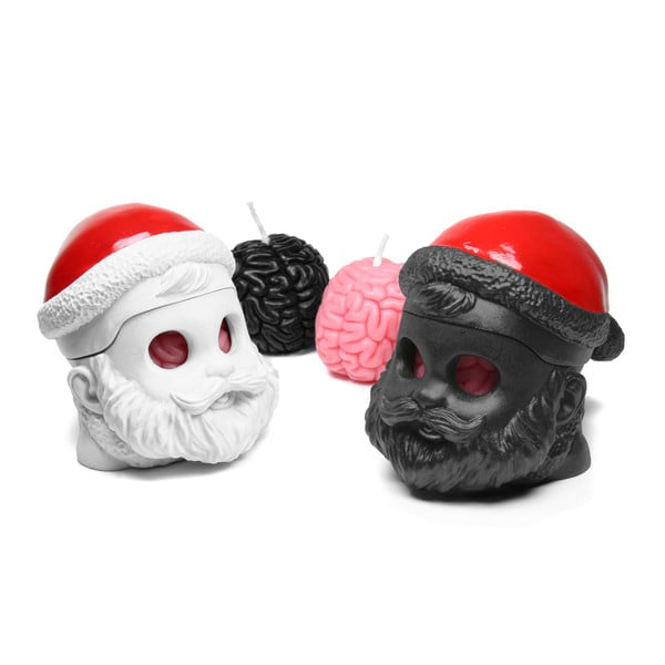 I Get Your Brain - Santa Brain Candle