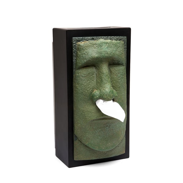 Easter Island Statue Tissue Holder