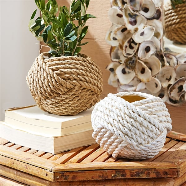 Knotted Rope Vase