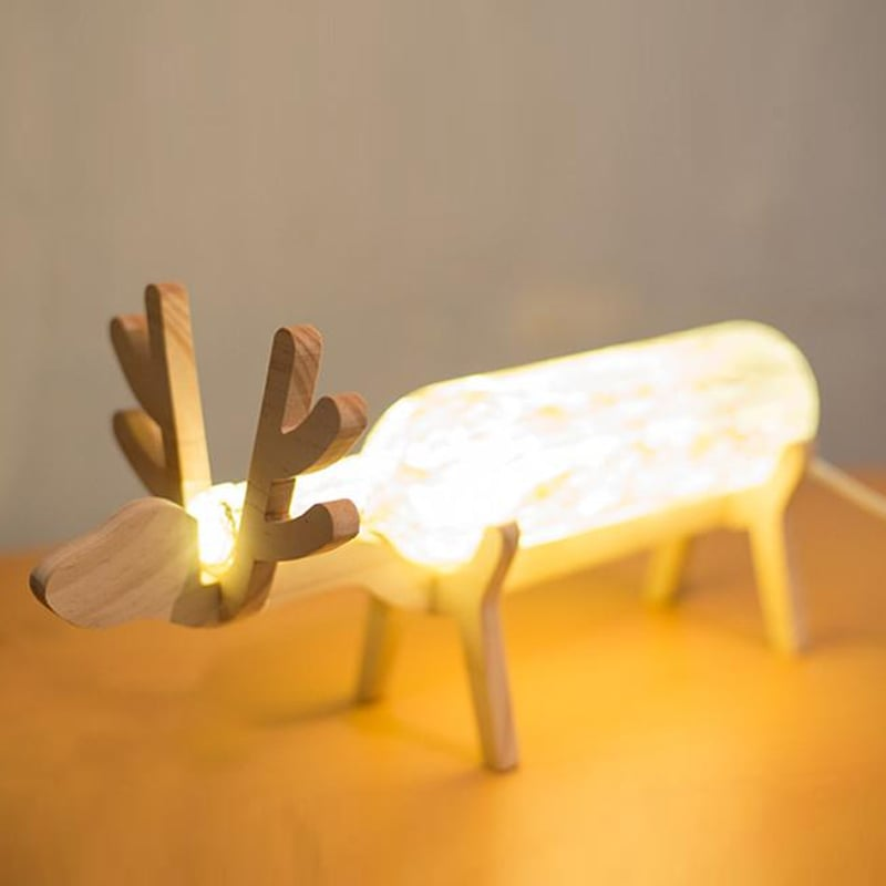 KongMing Deer Shaped LED Light