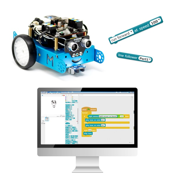 product thumbnail image for mBot - STEM Educational Robot Kit