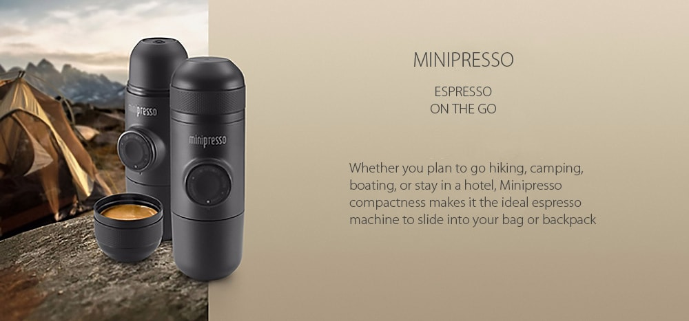 Minipresso Coffee Maker Espresso on the go