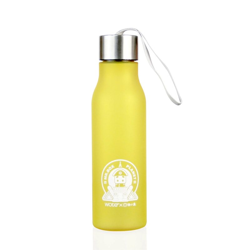 Mr. Box Matte Water Bottle
