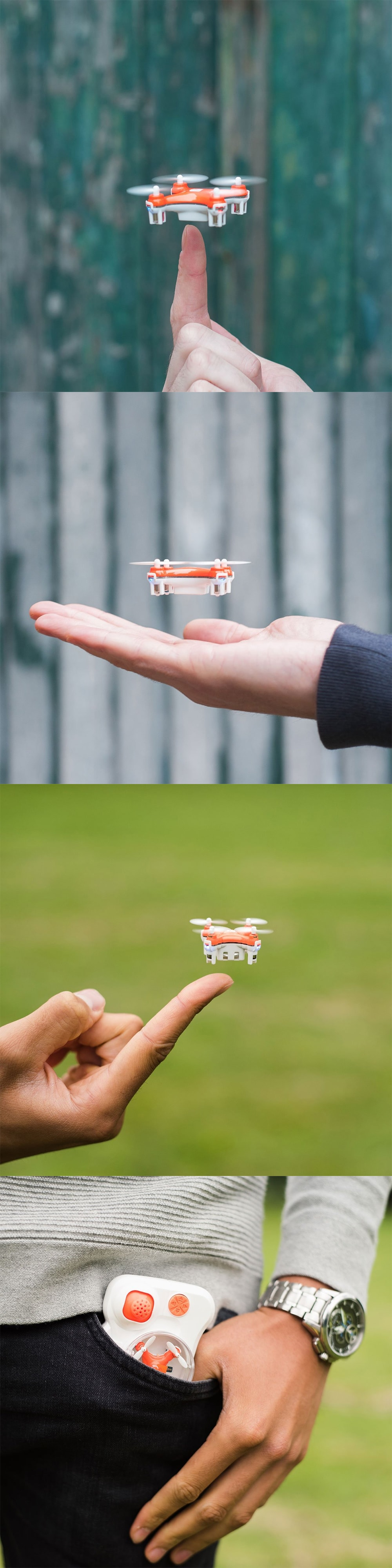 Mini Pocket Drone The Smallest Drone in The World