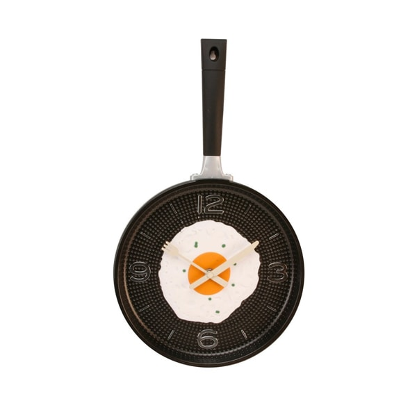 Fried Egg Pan Wall Clock