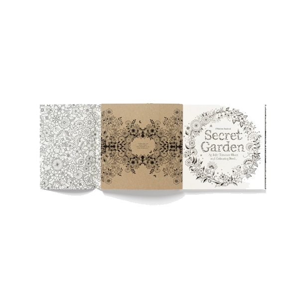 product image for Secret Garden With 24 Watercolor Pencils