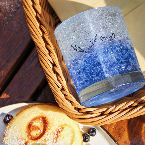 Starry Night Candle - Blue