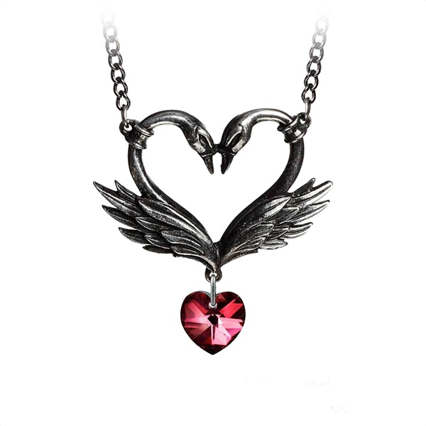 The Black Swan Romance Necklace