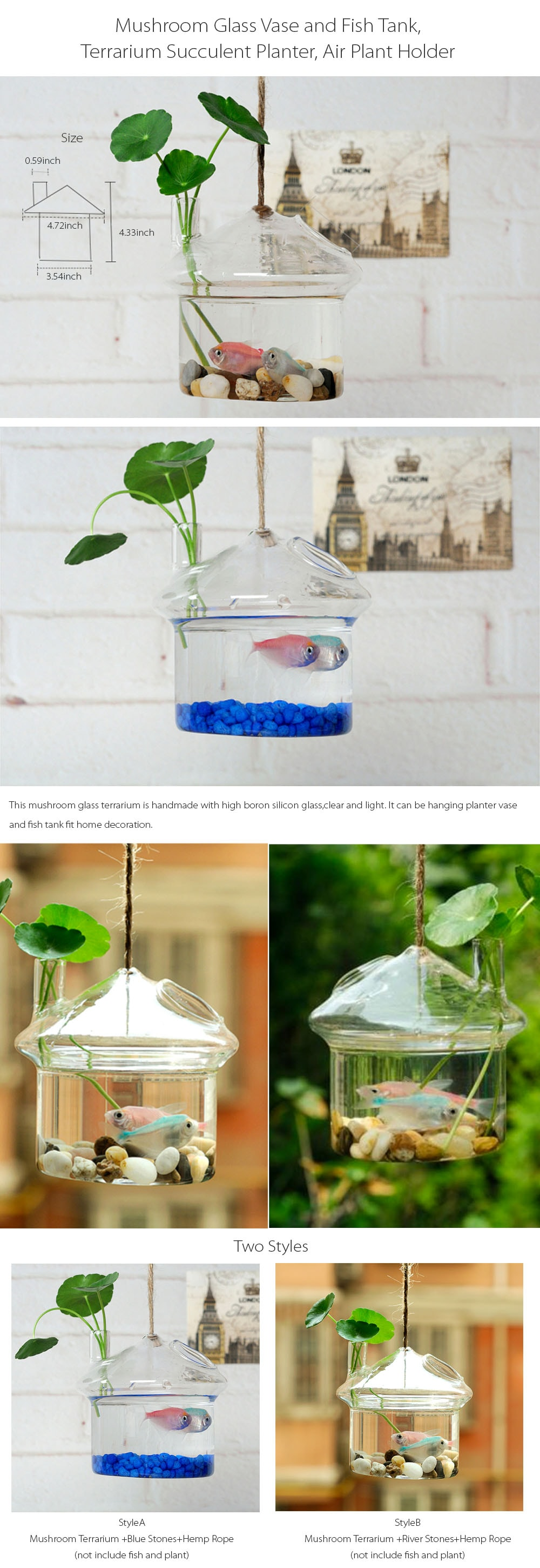 Hanging Fish Tank Your Fish Will Love It!