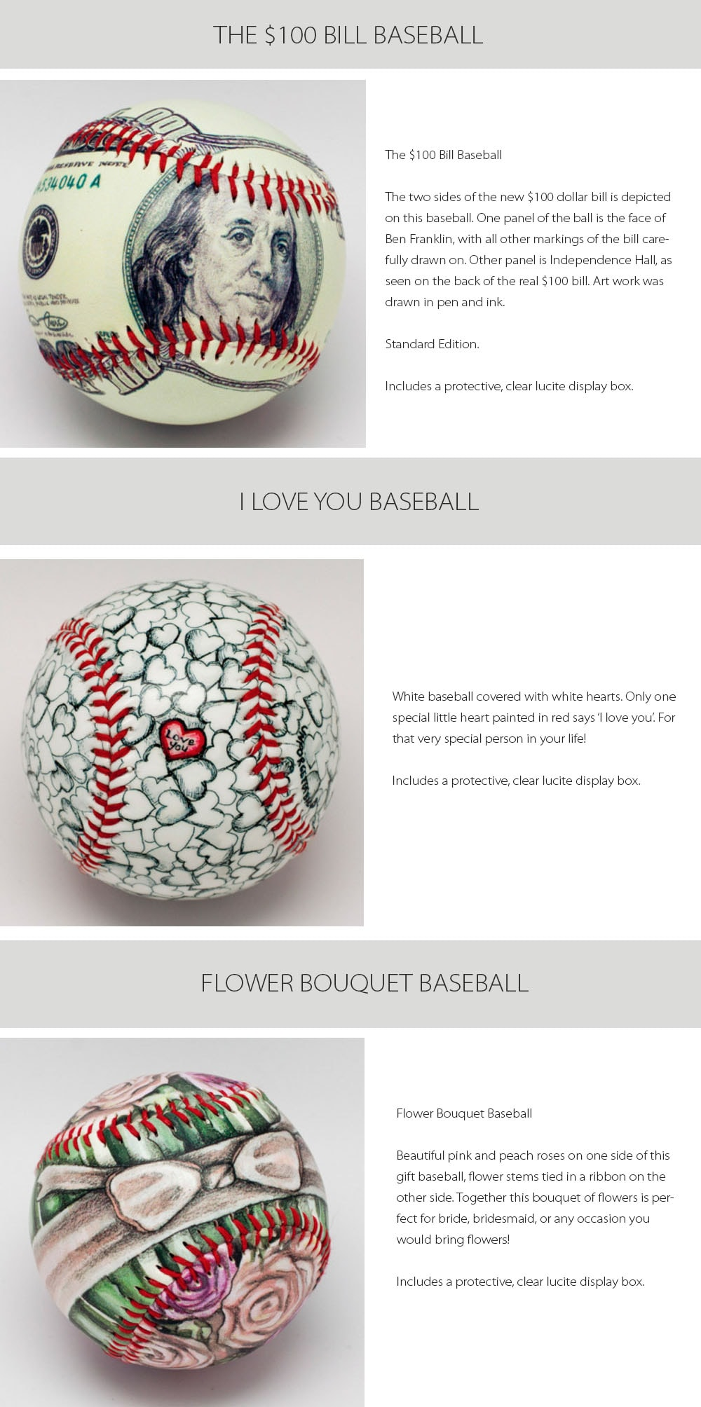 Unforgetaballs Baseball Collection Every Baseball Has Its Own Meaning