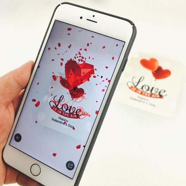product image for Magic Valentine Card