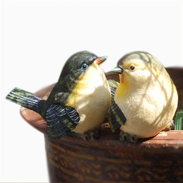 chubby birds home decor (set of 2) - apollobox