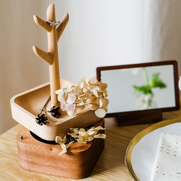Lemon Tree Jewelry Box