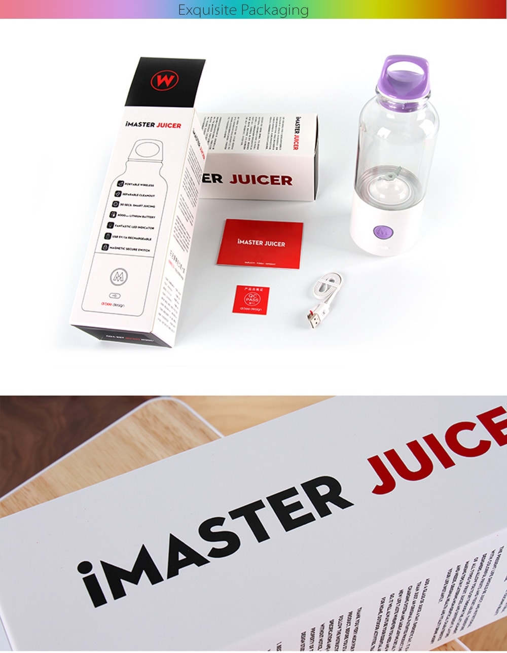 IMaster Self Blending Juicer Cup Make Yourself Fresh Blended Juice