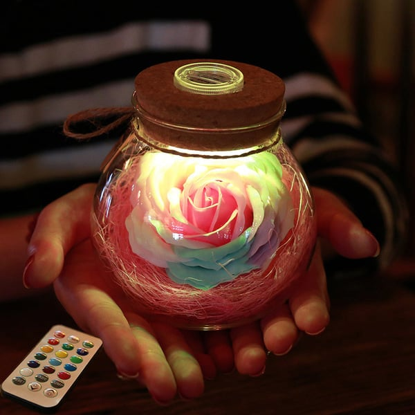 Rose Light Bottle