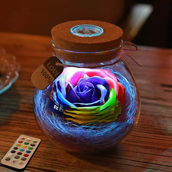 product thumbnail image for Rose Light Bottle