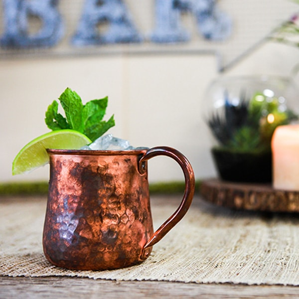 product thumbnail image for MOSCOW MULE MUG- RUSTIC