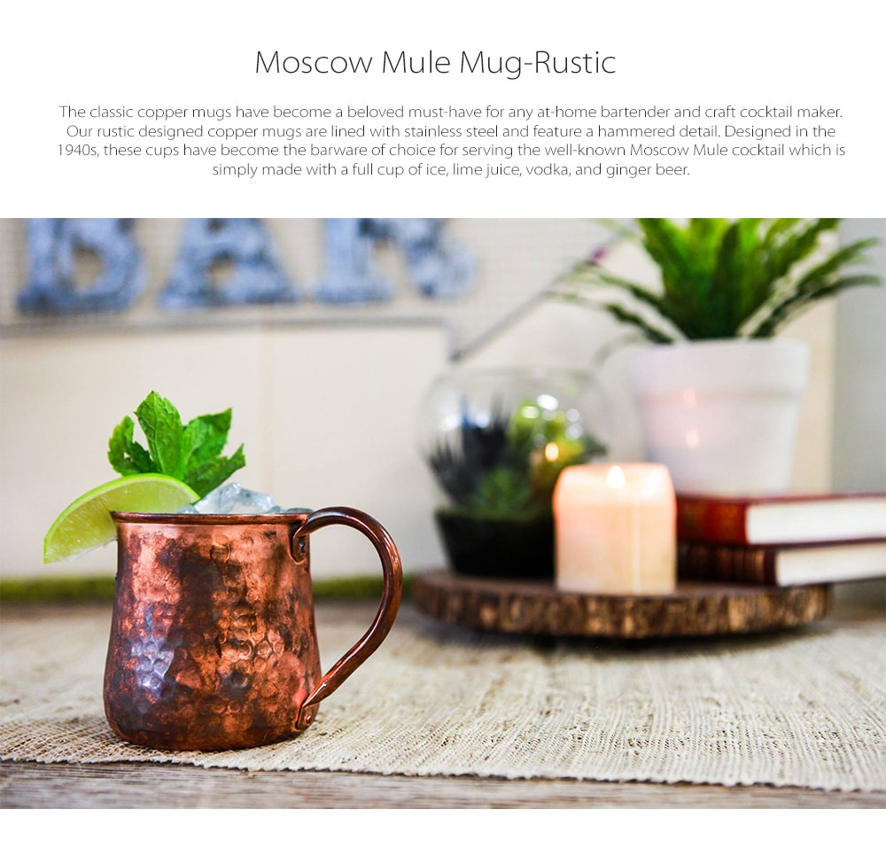 MOSCOW MULE MUG- RUSTIC Designed in Denver