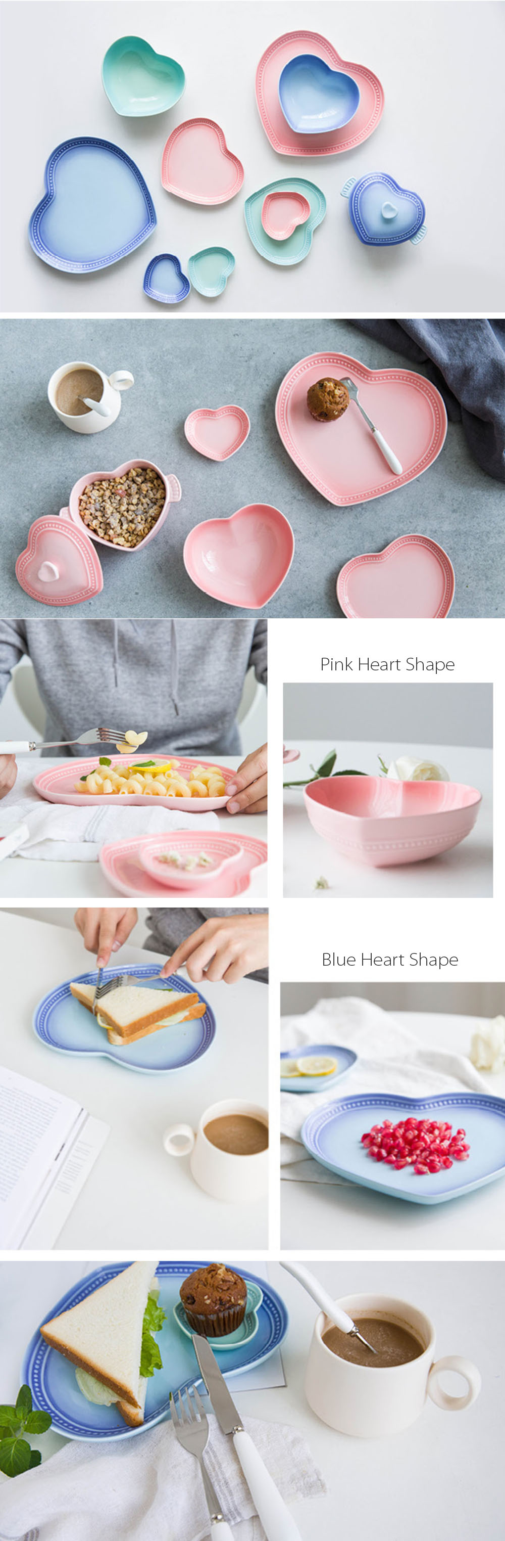 Heart Plates For Your Sweet Home