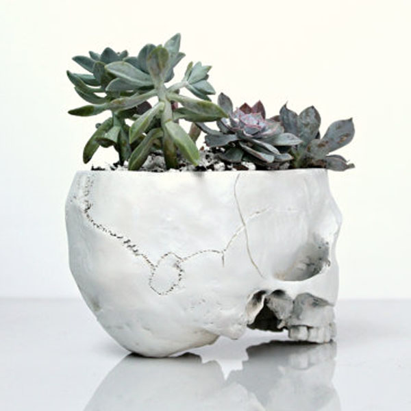 product image for Cactus Skull Planter
