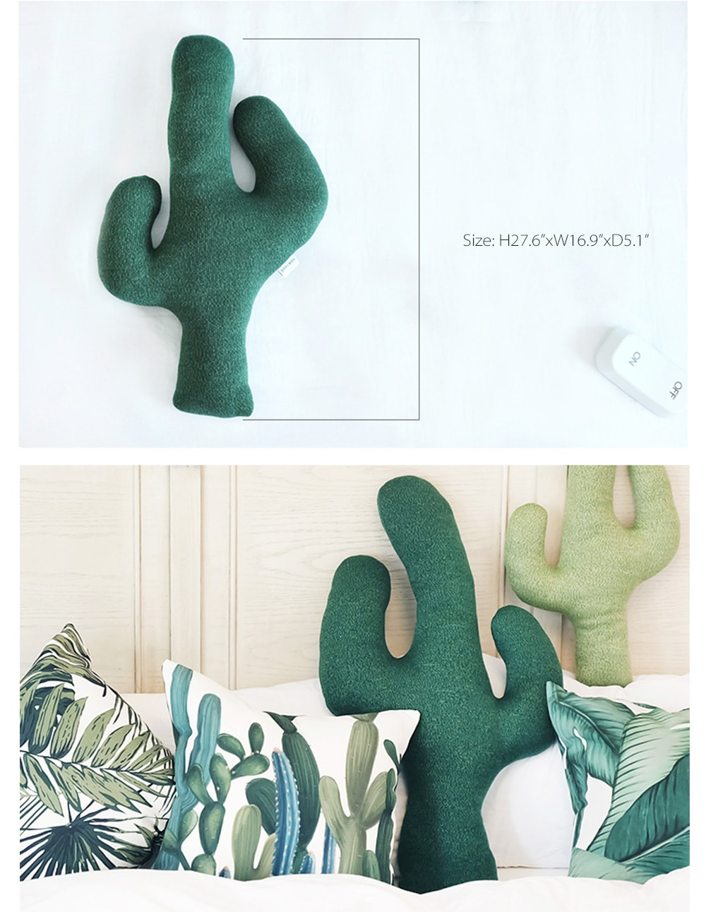 Cactus Throw Pillow For Your Sweet Home