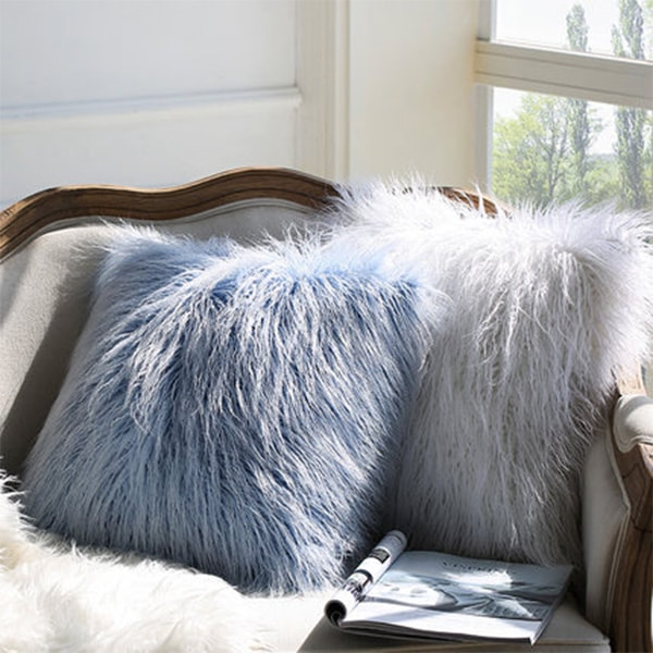 product thumbnail image for Faux fur pillow